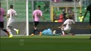 Cerci ci mette tutto il corpo e segna il goal dell'1 a 0 del Milan a Palermo
