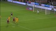 Cerci piazza il calcio di rigore all'incrocio: goal del vantaggio granata col Verona