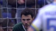 Cerci spiazza Karnezis dal dischetto e realizza il goal dell'1-1 tra Genoa e Udinese