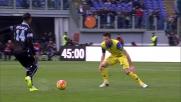 Cesar ferma con le cattive Keita e lascia il Chievo in 10 contro la Lazio