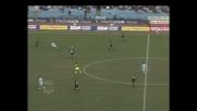Cesar scaraventa il sinistro sul palo contro la Sampdoria