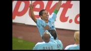 Cesar va in goal e la Lazio torna in vantaggio con il Siena