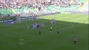 Dybala colpisce la traversa su punizione contro il Cesena