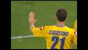 Palo-goal, punizione magistrale di D'Agostino all'Olimpico contro la Lazio