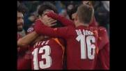 Chivu partecipa alla sagra del goal della Roma contro l'Udinese