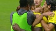 Ciani incorna da grande attaccante e pareggia a San Siro contro il Milan