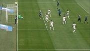 Cigarini appostato sul palo spazza ed evita il goal del Milan