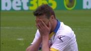Ciofani colpisce un palo clamoroso a Verona: Frosinone vicino al goal