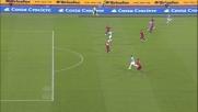Cissè conclude l'azione con un tiro indegno nel derby con la Roma