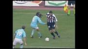 Alberto supera in dribbling Sorin