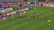 Pereyra realizza un bel goal al Friuli contro il Cagliari
