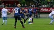 Clamorosa occasione per Guarin contro la Lazio a San Siro