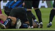 Colpo di tacco di Doni per il goal di destro di De Ascentis: tripudio Atalanta