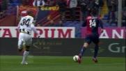 Colpo di tacco smarcante di Iago Falque contro l'Udinese