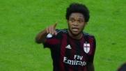 Colpo di testa da tre punti per Luiz Adriano: il Milan festeggia