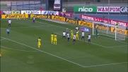 Colpo di testa di Gamberini e palla sul palo: si salva l'Udinese