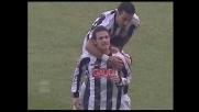 Colpo di testa e goal di Floro Flores: l'Udinese impatta contro il Genoa