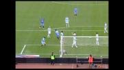 Colucci di testa segna il goal del vantaggio catanese sulla Lazio