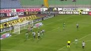Colucci salva sulla linea: evitato il goal di Floro Flores