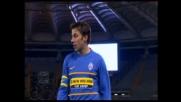 Con un colpo di tacco Del Piero guadagna un corner all'Olimpico
