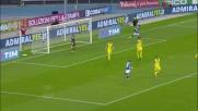Con un gran colpo di testa Daniel Ciofani porta in vantaggio il Frosinone a Verona