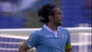 Con un gran goal di capitan Mauri la Lazio passa in vantaggio sul Sassuolo
