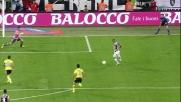 Con un inserimento perfetto Vidal realizza con freddezza il goal alla Lazio