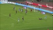 Con un tiro di precisione Biglia segna il primo goal della stagione all'Olimpico di Roma