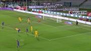 Con una finta Borja Valero si procura l'occasione per il secondo goal personale