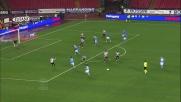 Con uno stacco poderoso Maggio segna il goal del 2 a 0 all'Udinese