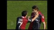 Conti sblocca il match con l'Udinese grazie a un goal fortunoso su punizione