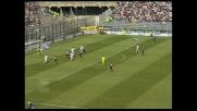 Conti sigla il raddoppio del Cagliari contro la Fiorentina