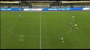 Contopiede del Bologna, ma Handanovic nega il goal a Guana con una gran parata