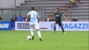 Contro il Sassuolo Candreva va in goal con un tiro mancino da fuori area