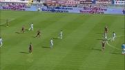 Contro la Lazio Immobile calcia fuori dopo una grande azione personale