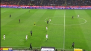 Contro la Roma Alvarez dribbla con una giocata di suola Balzaretti