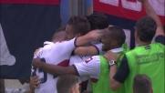 Contropiede manovrato del Genoa: il tiro di Iago Falque finisce in goal