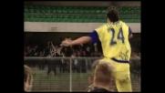 Cossato di testa segna un goal al Milan e riaccende le speranze per il Chievo