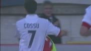 Cossu firma il goal del momentaneo pareggio del Cagliari in casa del Bologna