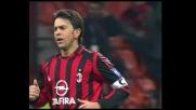 Costacurta sfiora il super goal contro l'Empoli, solo palo