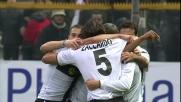 Crespo fa gioire tutto il Tardini siglando il vantaggio del Parma sulla Lazio
