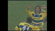 Crespo, tunnel a Costacurta e goal! Milan-Parma è 1-1