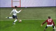 Cribari sbaglia il rinvio in Milan-Lazio