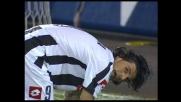 Cross invitante, ma Iaquinta svirgola e manca il goal per l'Udinese