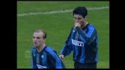 Cruz dal dischetto segna il goal del vantaggio dell'Inter sull'Udinese