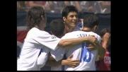Cruz segna il goal su punizione, l'Inter coglie il pareggio a Cagliari