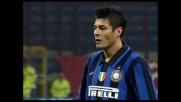 Cruz su rigore segna il goal del 4-1 al Genoa