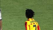 Cuadrado vicino al goal in Lecce-Udinese