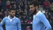Cucchiaio di Candreva su rigore e goal vittoria della Lazio a Udine