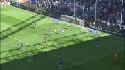 Curci nega il goal a Pinzi respingendo il tentativo a rete